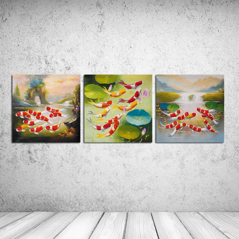Achetez en gros koi tang peintures en ligne des for Grossiste carpe koi