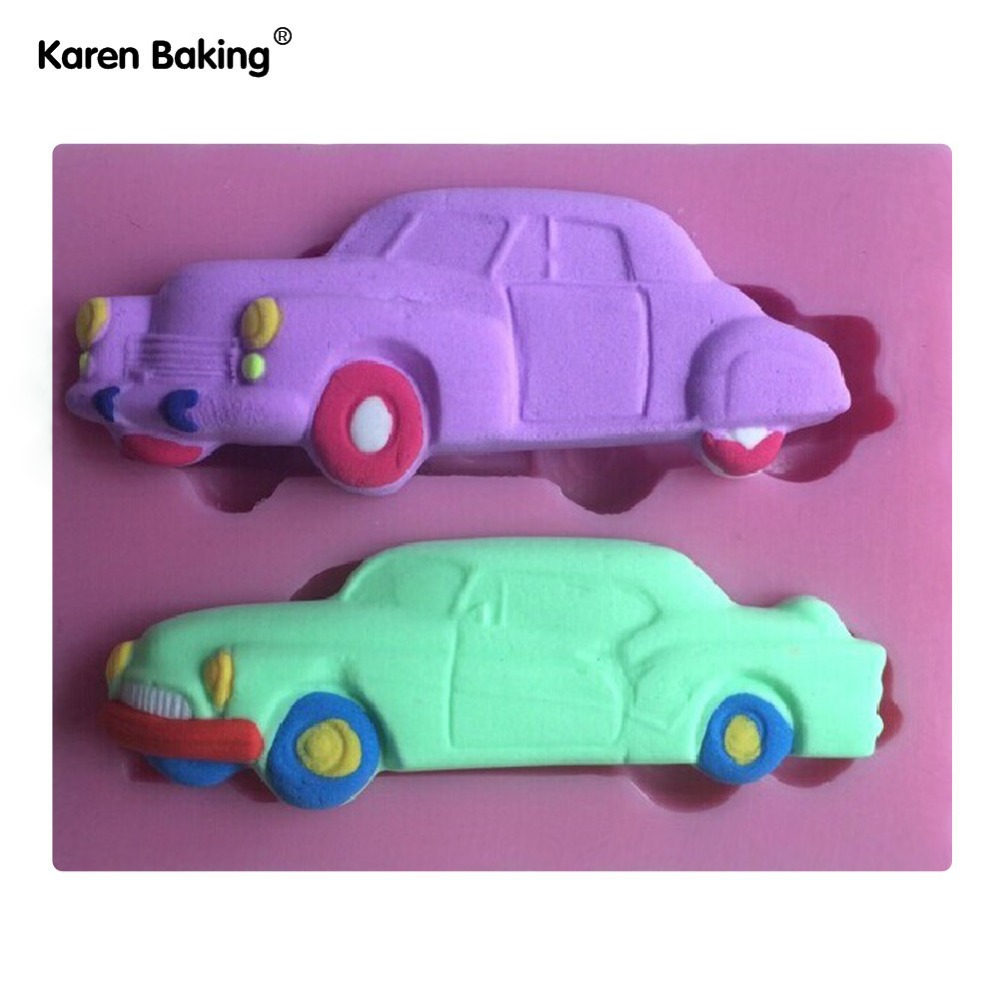 Classic Car Cake Molds