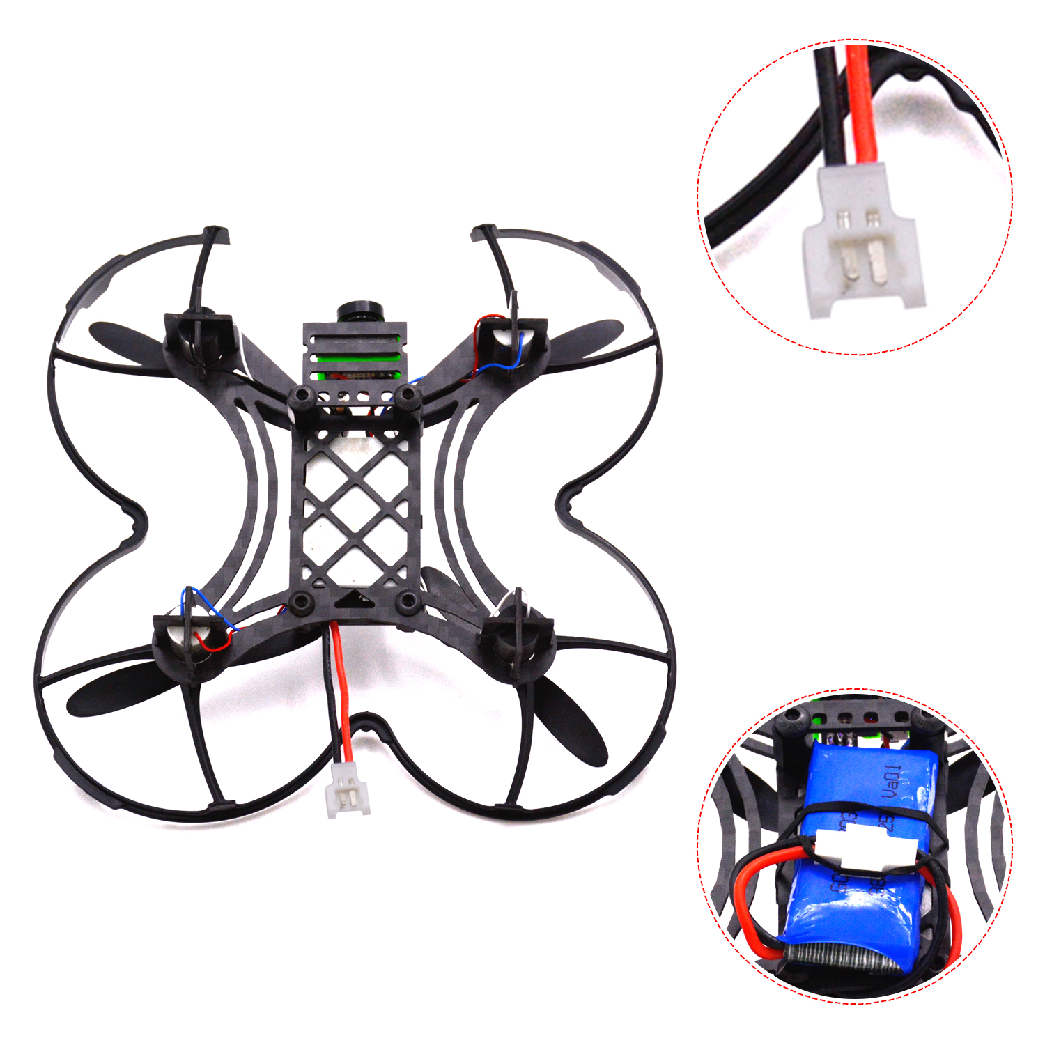 90mm Frame Kit &F3 Flight Controller Board 8520 motor&600TVL Camera RC plane 90mm Micro FPV Racing Quadcopter Spare Parts
