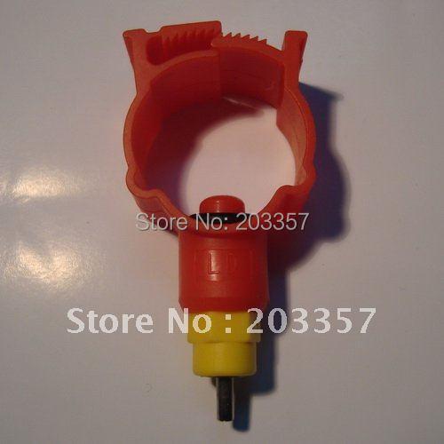 50Poultry nipple drinker round 25mm ball seal chicken quail bird hen cup water. - SHANGHAI LUSEN Mechanical Equipment Co., Ltd. store