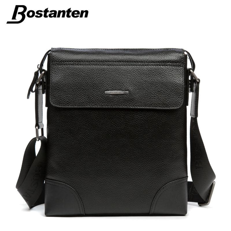 Bostanten New Men Messenger Bags Luxury Genuine Leather Male Shoulder Bag Travel Small Crossbody Bag Casual Messenger Brand Bags(China (Mainland))