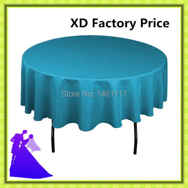 "20pcs / a lot custom -mad ( 70"" ) polyester tablecloth to various color choose(China (Mainland))"