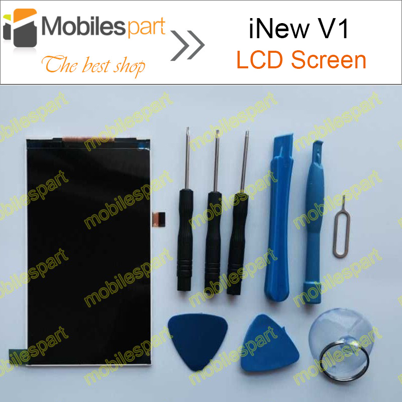iNew V1 LCD Screen 100% Original LCD Display Screen Assembly Replacement For iNew V1 Smartphone Free Shipping