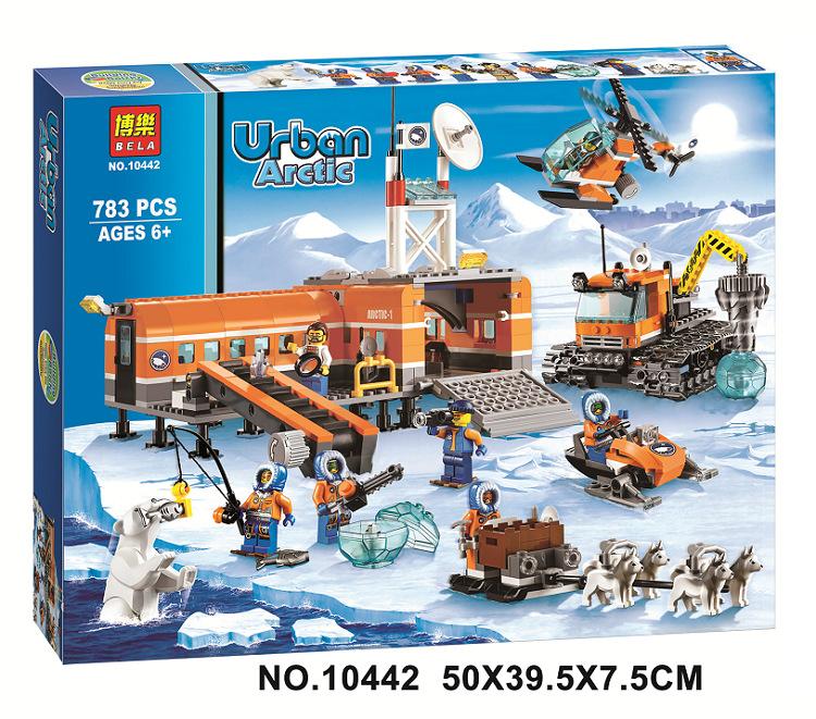 Bela 10442 City Arctic Base Camp Model building kits compatible lego city 3D blocks Educational toys hobbies children - JENS store