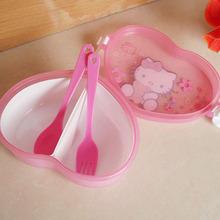 Heart-Shaped Hello Kitty Lunch Box