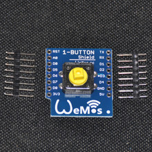 1-Button Shield for WeMos D1 mini button Smart ESP8266 WiFi Module DIY kit for ESP8266 WIFI parts(China (Mainland))