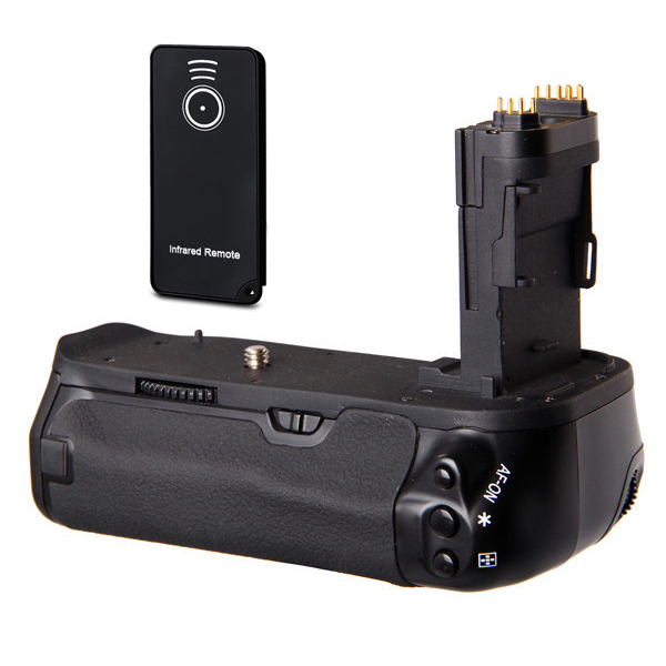 Hogh Quality Battery Holder Grip with Infrared remote for Canon EOS 6D BG-E13(LP-E6)<br><br>Aliexpress