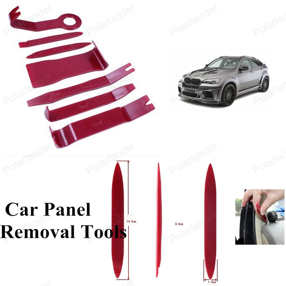 Полный комплект для ремонта автомобиля 7 шт. ремонт автомобилей комплект инструментов автомобиля средство для удаления панели комплект инструментов