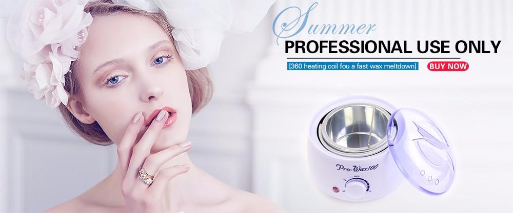 12 Sabor 1 PCS Creme Facial Corpo Depilação Depilador de Cera Depilatória Nãotecidos Mulheres Tira Cera Perna Suave Cera DepilationD044