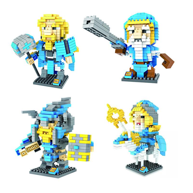 LOZ Diamond Building Blocks World of Monster Game Series Children DIY Mini Building Bricks Toy