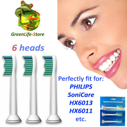 Replacement Heads For Philip Sonicare Sonicare R710 HX6930 Rechargeable toothbrush 6pcs heads/lot<br><br>Aliexpress