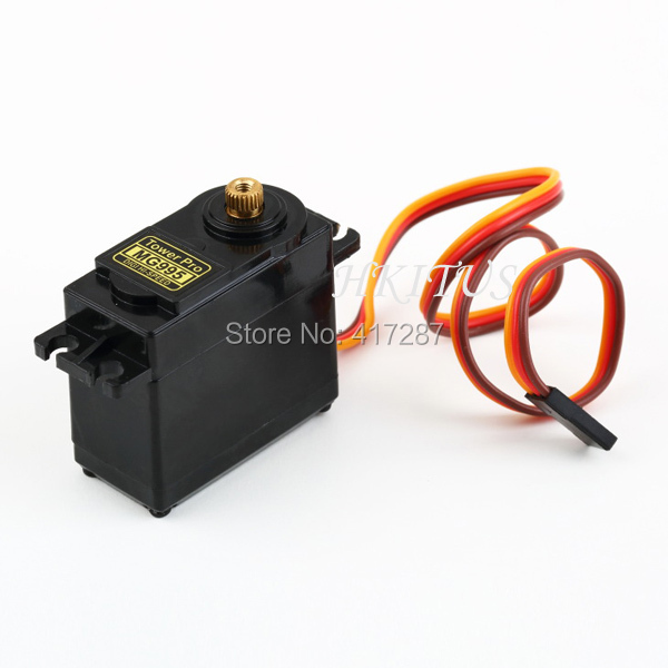 Free shipping high speed servo motor mg995 55g servos for High speed servo motor