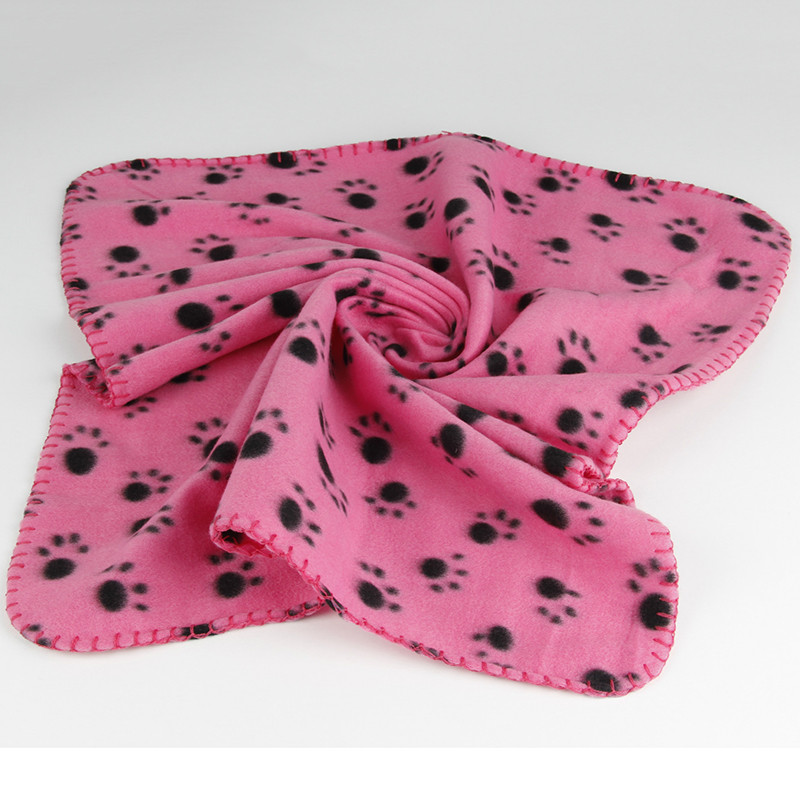 40-x-60cm-Dog-Towel-Cute-Floral-Pet-Warm-Paw-Print-Dog-Puppy-Cotton-Soft-Blanket (3)