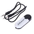 2 in 1 Universal 3 5mm Streaming Car Wireless Bluetooth Car Kit AUX Audio Music Receiver