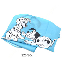 1 piece Cute Cartoon Dog Pattern Child Hair Cutting Cape Apron Gown Hairdressing DIY(China (Mainland))