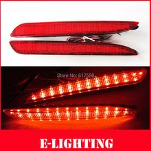 Red Lens LED Rear Bumper Reflector Backup Tail Brake Fog Light For 2010-2013 Mazda3 M3 MAZDASPEED3 (China (Mainland))