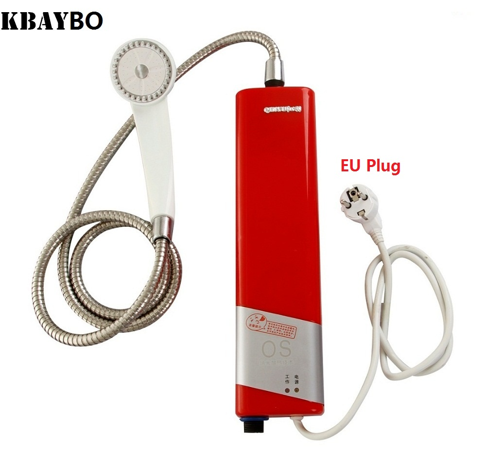 Instant Hot Water Heaters For Showers : W electric shower tankless water heater instant