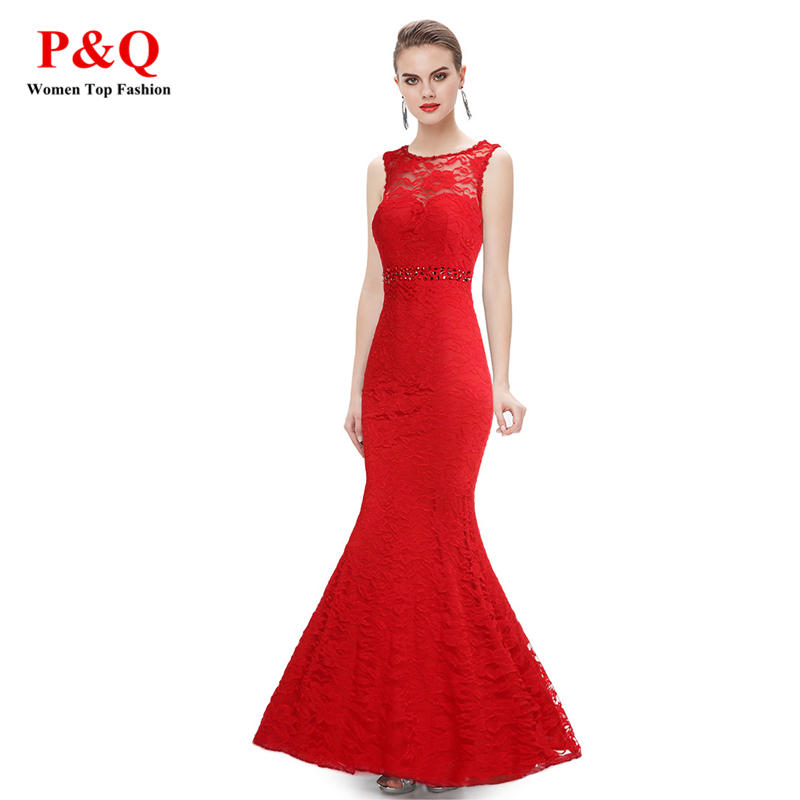 JIROFA 2016 Party Ladies Elegant Diamonds Red Lace Sexy Long Women Dresses Sleeveless Deep V Backless Bodycon Vestidos Wedding(China (Mainland))