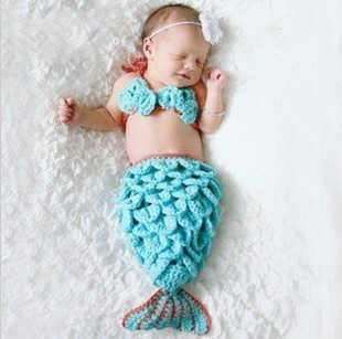 2013 Mermaid shape kitting baby hat series to the cutest in the world J063