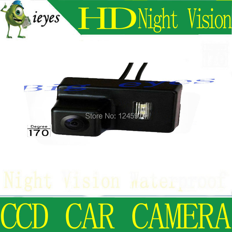 Car Rear View Reverse Camera rear parking camera for PEUGEOT 206 / 207 / 407 / 307 (3 Carriage) night vision free shipping(China (Mainland))