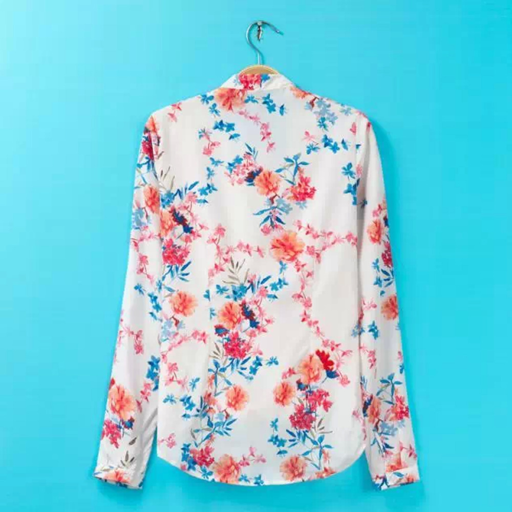 Flower Printed Tops Top Design Floral Print