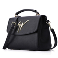 Ladies Designer Classy Handbag Embossed Leather Flap Bag Shoulder Bag Fashion All match Stylish Women Inexpensive