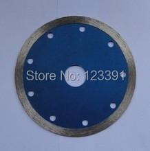 Envío gratis 1 unids corte húmedo 125 * 22.23 * 2.0 * 8 mm continious llanta segmentado diamante vio la lámina para mármol / granito / de corte de hormigón