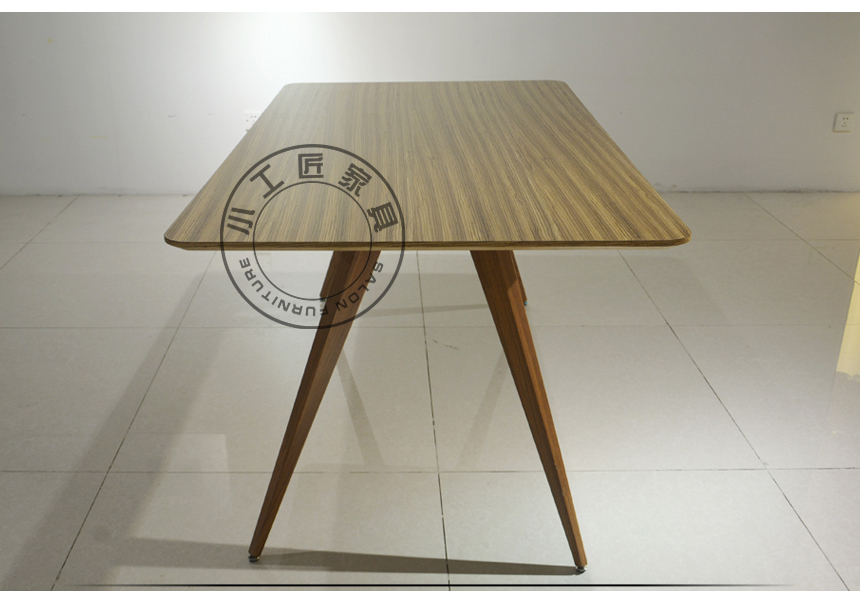 Ash Solid Wood Dining Table Small Apartment Minimalist Modern
