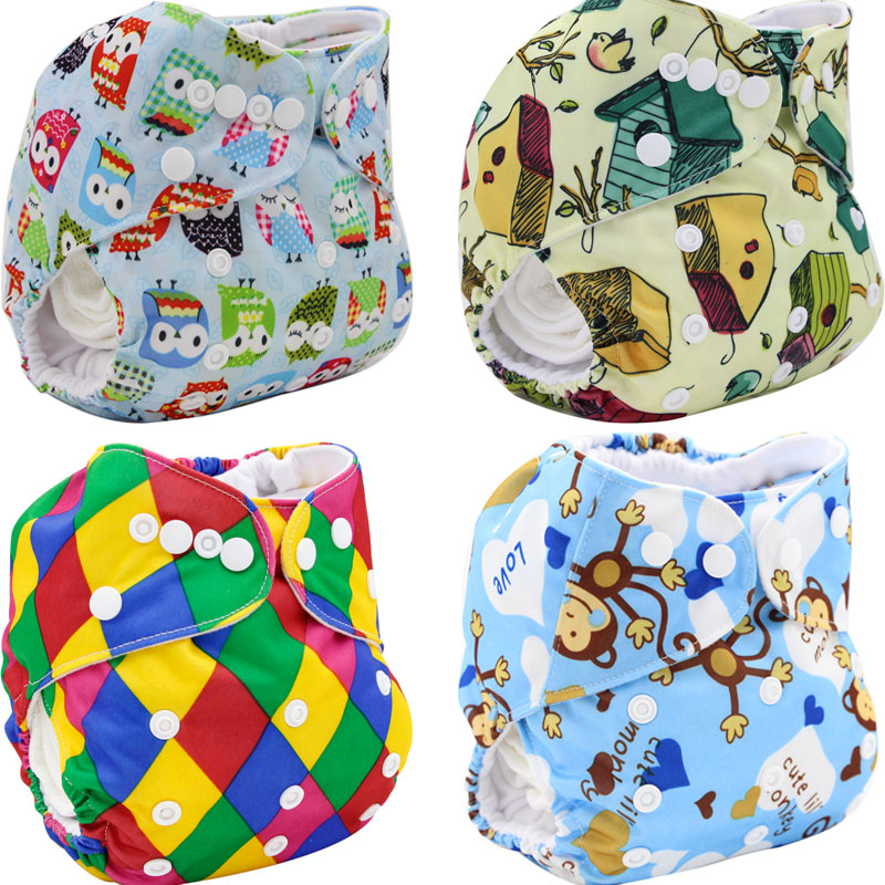 Reusable Baby Diapers Cover Cloth Diaper 2016 Brand New Couche Lavable Baby Nappy Changing Double-breasted Washable Diaper Baby(China (Mainland))