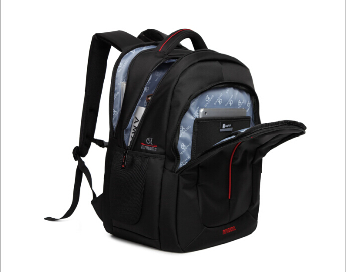 """Big capacity 17"""" inch double shoulder computer notebook Laptop bag tablets PC Backpack business travel Backpack bag pack(China (Mainland))"""