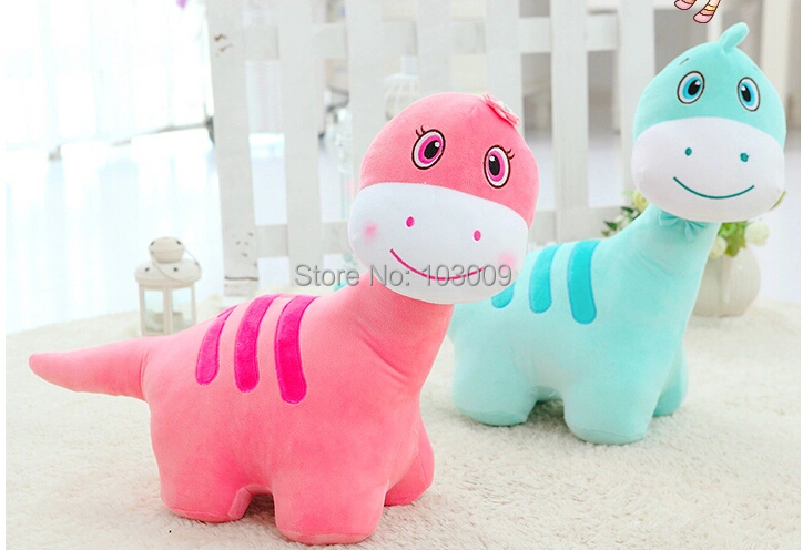 Large cute cartoon dinosaur plush doll toys for children girls gift 60cm(China (Mainland))