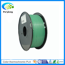 PLA 3D Printer Filament 1.75mm 3mm Color Changing Thermochromic blue green to yellow green for MakerBot/RepRap/UP/Mendel