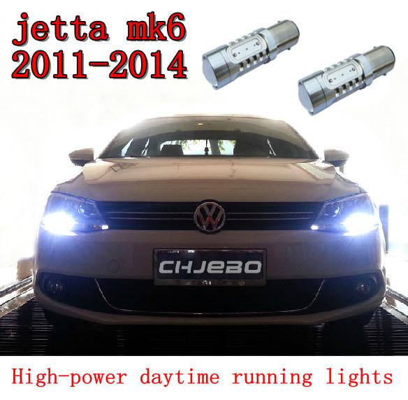 Cheetah Free shipping,VW Jetta MK6 LED DRL Driving Daytime Running Day Fog Lamp Light(China (Mainland))