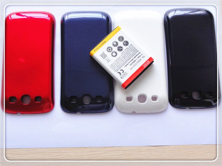 4500mAh Highly Mobile Phone Replacement Battery + Batery Door Case For Samsung Galaxy S3 SIII i9300(China (Mainland))