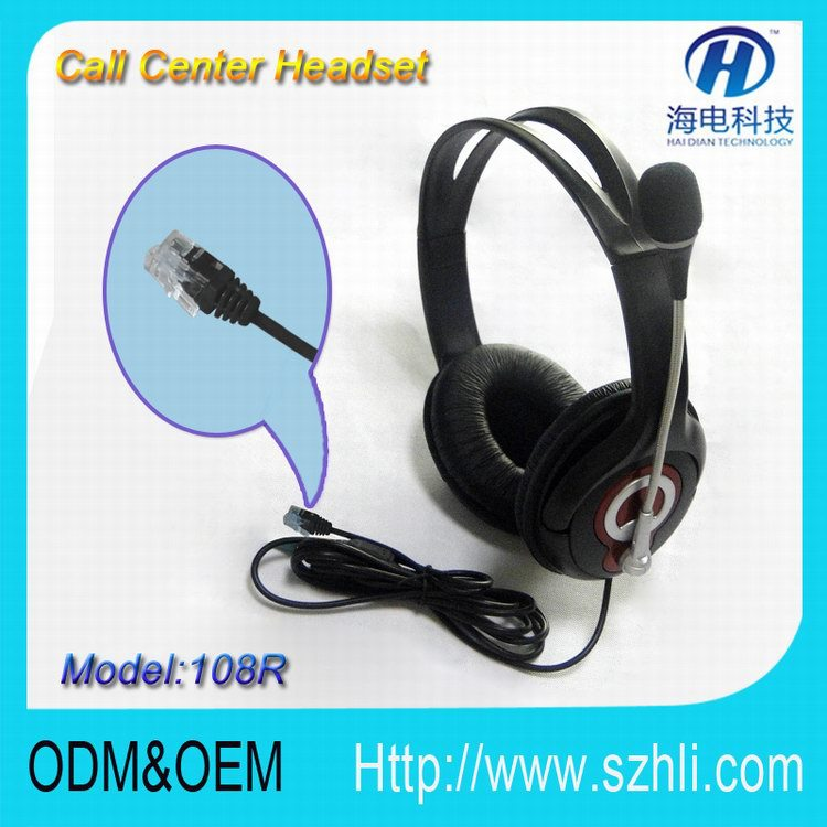 Promote 2014Christmas gift call center connector call center noise cancelling headset protable computer equipment, online chat(China (Mainland))