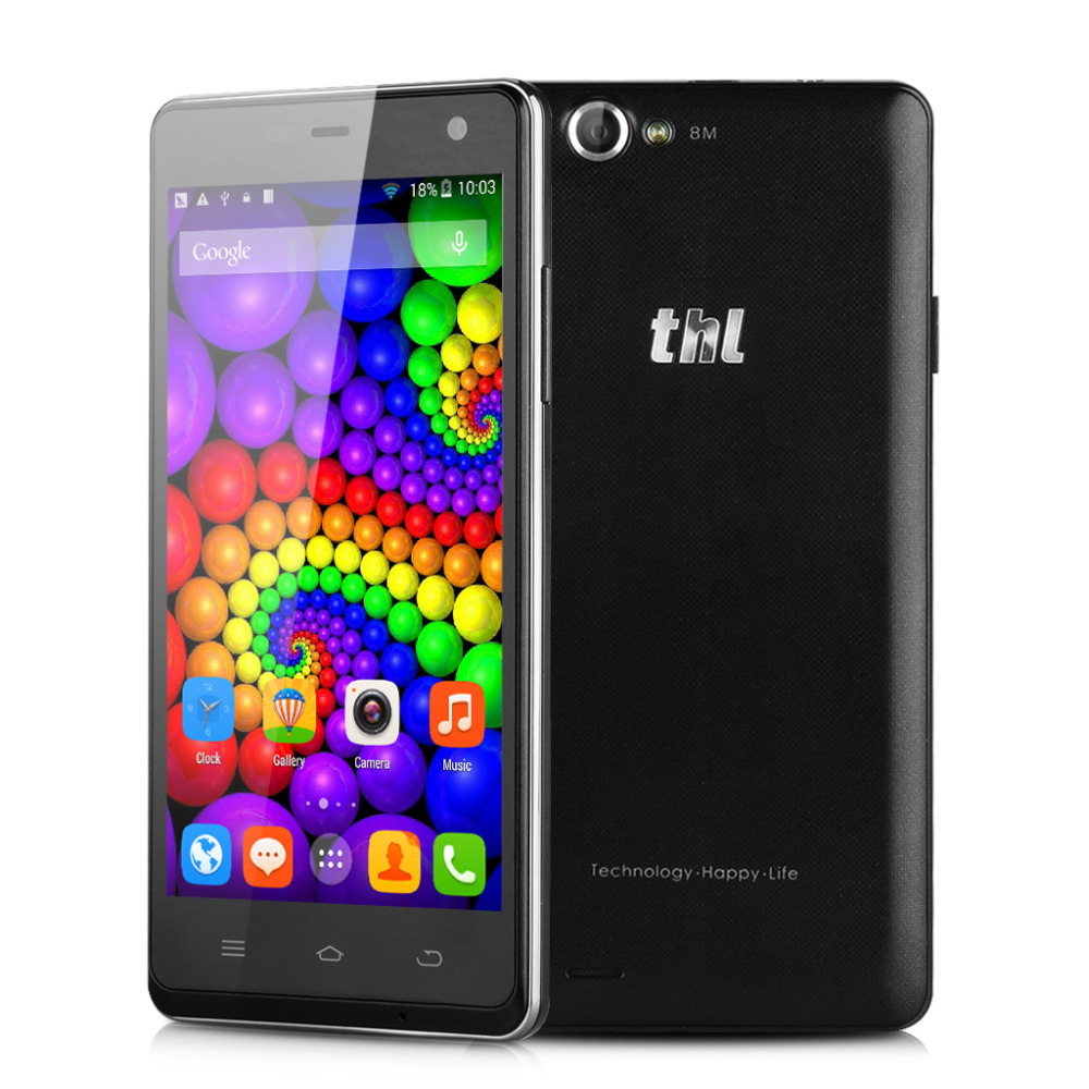 2015 Original 5 0 THL 4400 Smartphone 3G Android 4 2 2 MT6582M Quad CORE 1