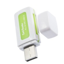Free Shipping All in 1 USB 2 0 Multi Memory Card Reader Adapter Connector For Micro