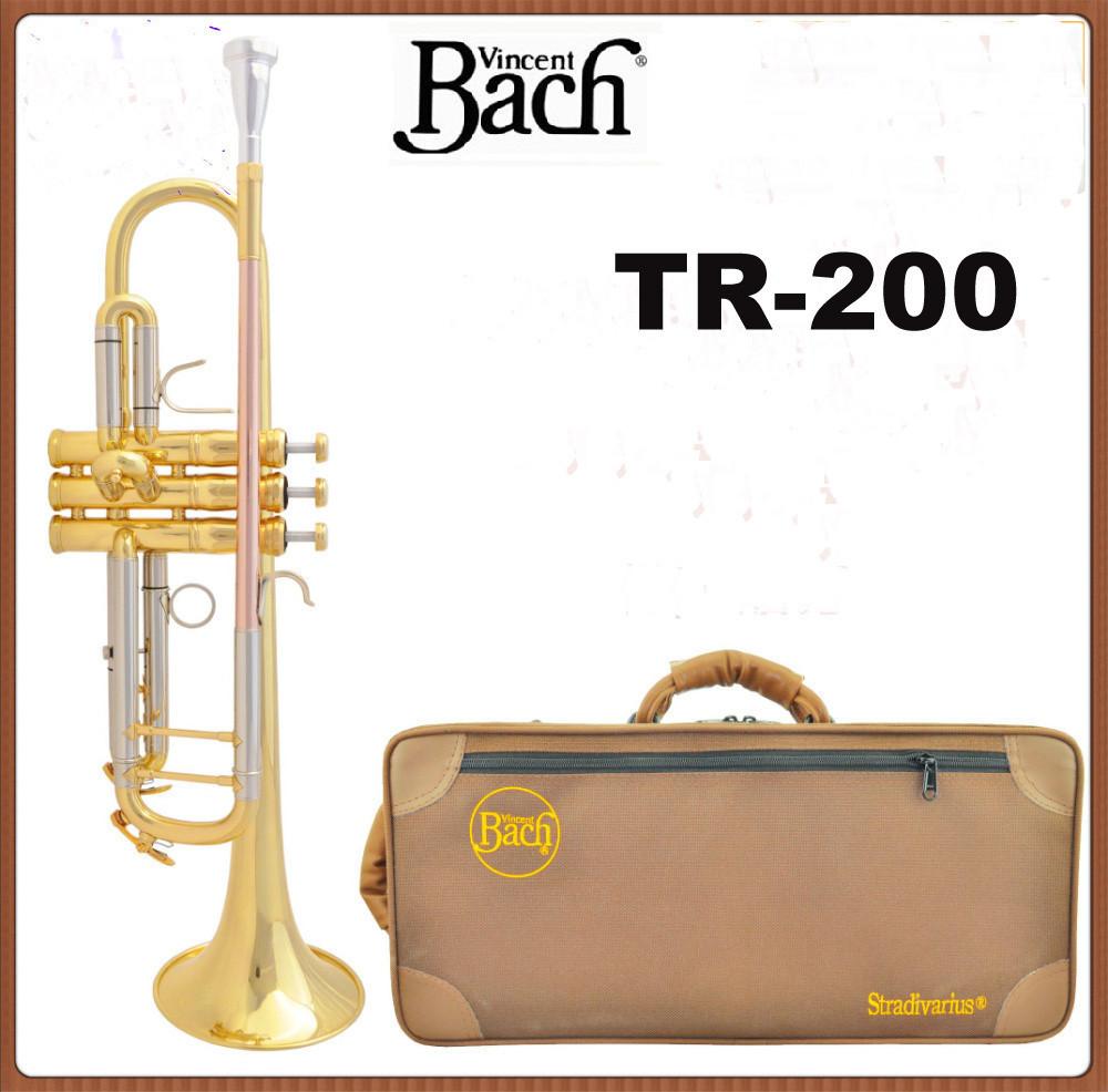 [해외]?새로운 바흐 트럼펫 TR-200 절 재고 BB와 트럼펫의 금관 악..