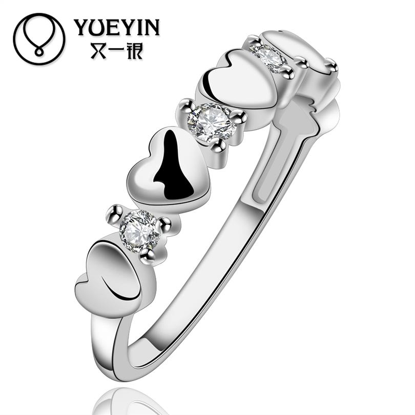 YUEYIN 925 Sterling Silver Ring Rings For Women Fine Jewelry Anillos Ring Women Aliancas De Casamento Toe Ring Anillos Hombre(China (Mainland))