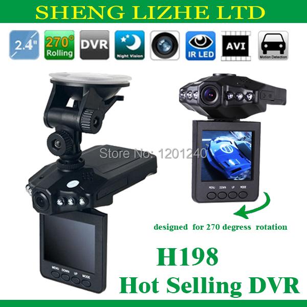 Автомобильный видеорегистратор OEM 2.4 DVR 1.3mega CMOS H198 видеорегистратор oem k6000 100 log0