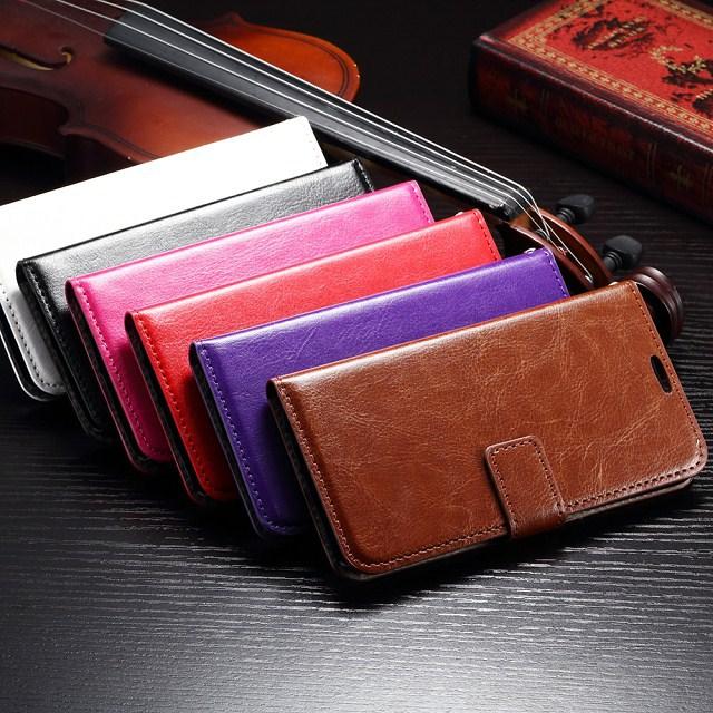 Здесь можно купить  100pcs/lot DHL Shipping Vintage Flip Leather Case for Samsung Galaxy S6 G9200 With Wallet Stand Card Holder Phone Bag Cover Case  Телефоны и Телекоммуникации