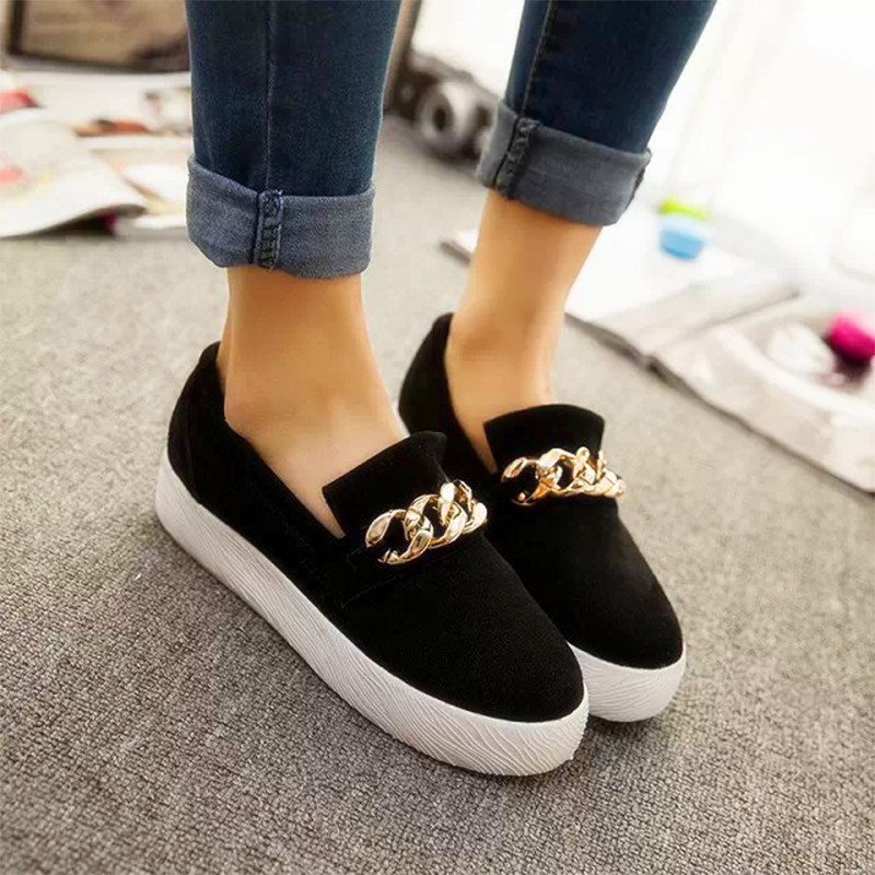 Sport Shoes Summer shoes woman sneakers 2015 zapatillas deportivas Woman Platform Canvas Sneakers Size 35-39 Rubber Casual flat(China (Mainland))