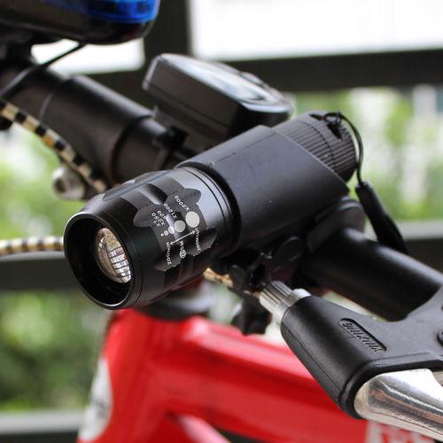 Фара для велосипеда New MTB CREE Q5 240 FL5000+FL1000