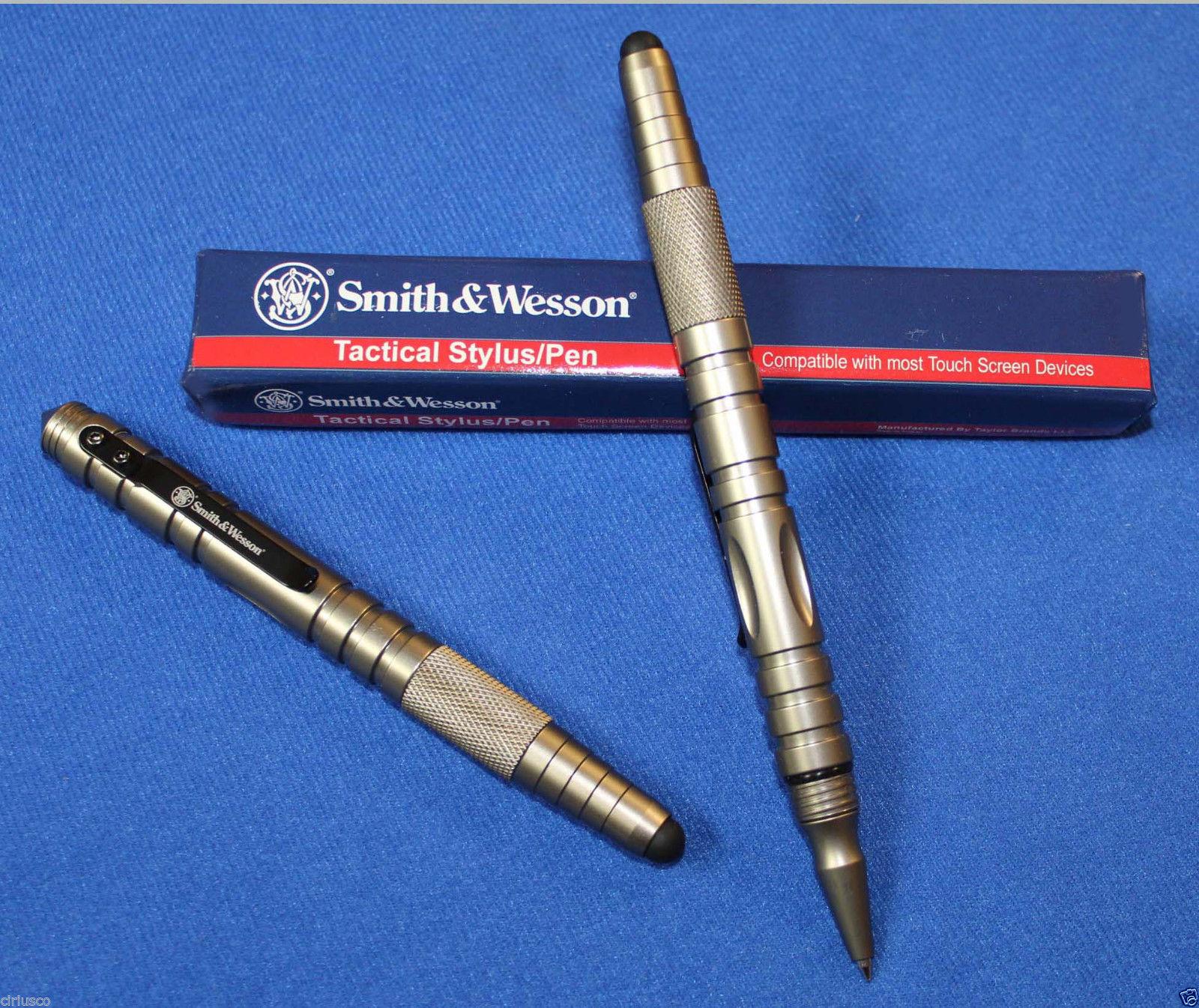 Здесь можно купить  2016 New Smith & Wesson Tactical Self Defense Pen Ballpoint with Touch Screen Stylus New  Офисные и Школьные принадлежности