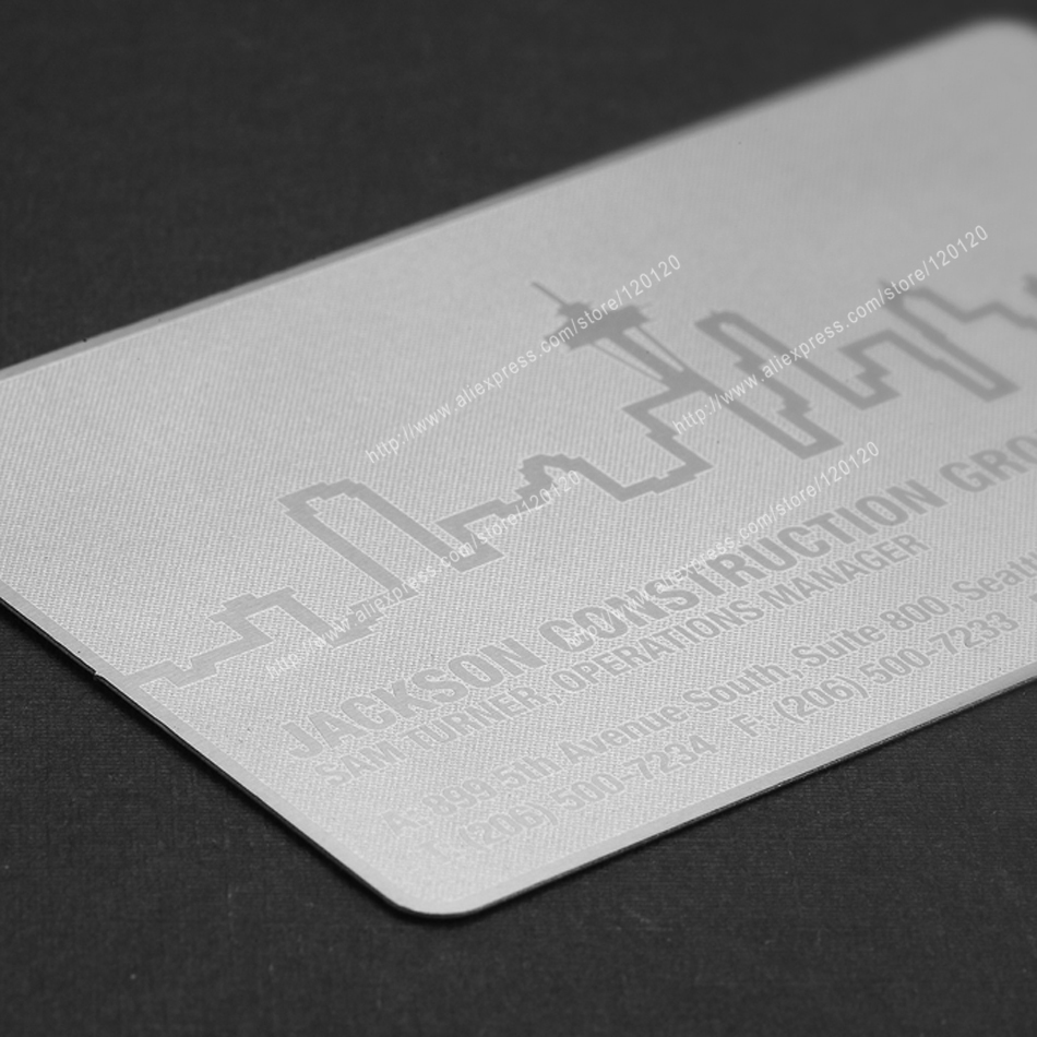 Cool black personalized quality business metal card<br><br>Aliexpress