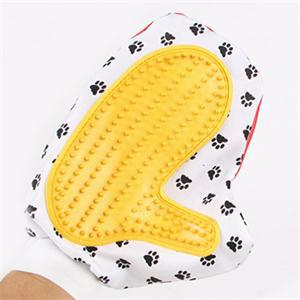 1PCS Color Random High Quality Pet Bath Brush Comb Animal Massage Hair Removal Dog Bath Glove Grooming(China (Mainland))