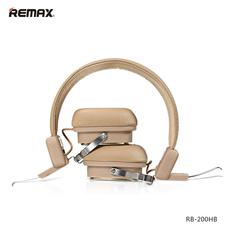 REMAX RB-200HB  Wireless Bluetooth Headphones Bluetooth4.1 support  music function for smart phone<br><br>Aliexpress