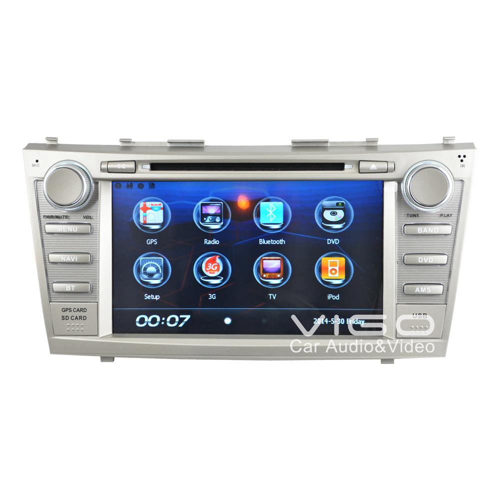 Car Stereo GPS Navigation for Toyota Camry Aurion Auto Multimedia Headunit Sat Nav Autoradio Radio RDS
