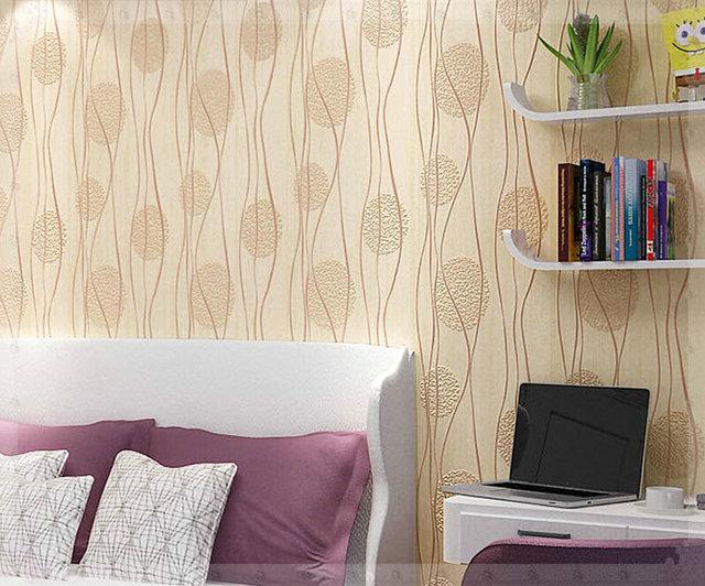 The Modern Minimalist Wallpaper Bedroom Warm Living Room