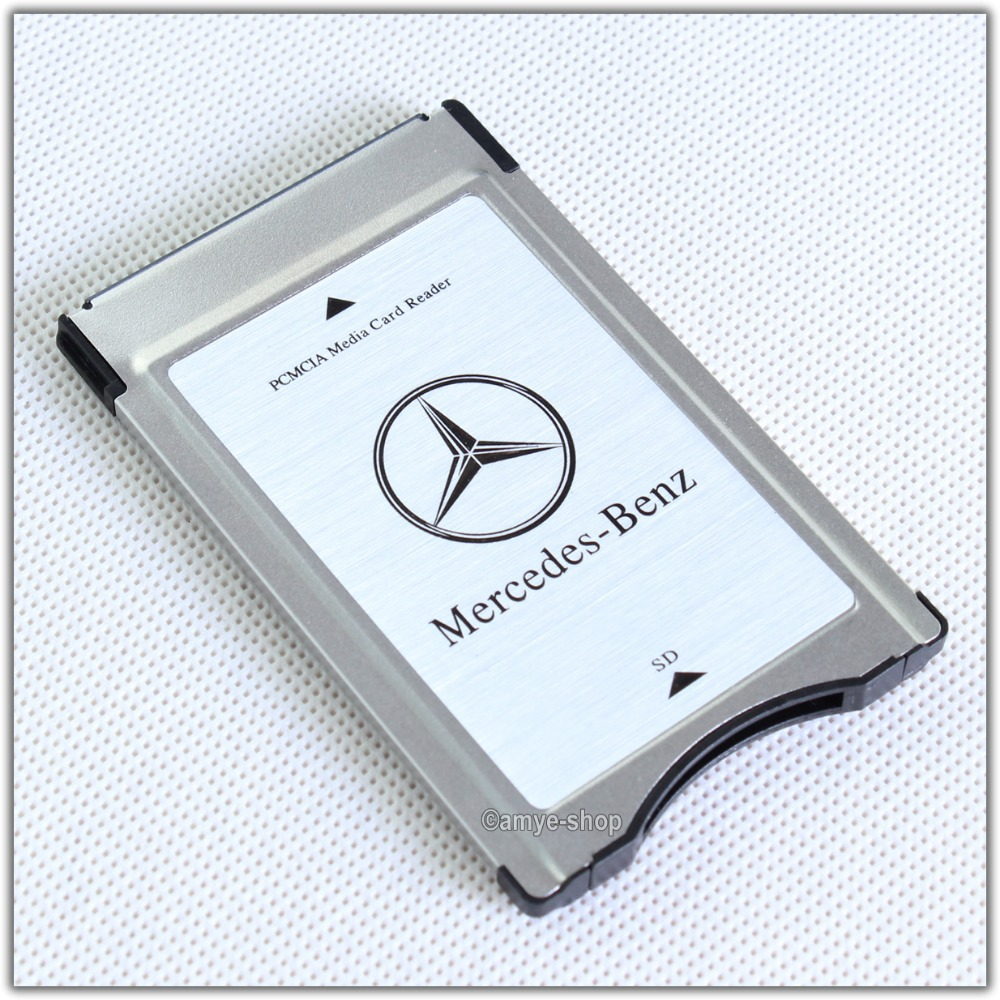 Genuine pcmcia to sd pc card adapter suport sdhc for for Pcmcia mercedes benz